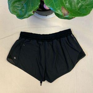 Lululemon Speed Up Shorts Black Size 10